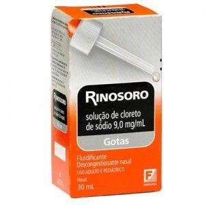 RINOSORO 90,1MG NASAL FRASCO COM 30ML