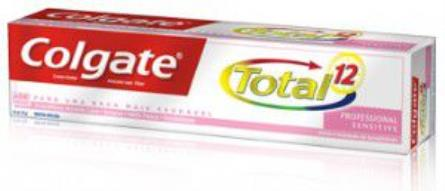 COMPRAR CREME DENTAL COLGATE TOTAL 12  SENSITIVE 70G