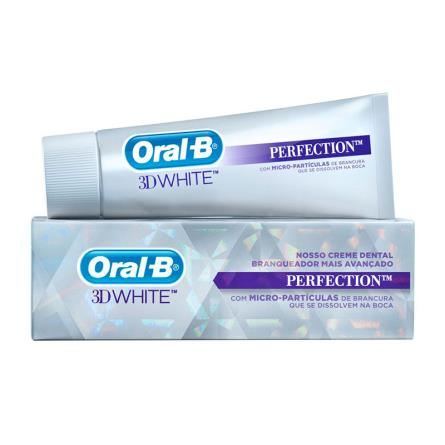 COMPRAR ORAL-B CREME DENTAL 3D WHITE PERFECTION COM 102G
