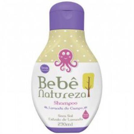 COMPRAR SHAMPOO BEBE NATUREZA LAVANDA DO CAMPO COM 230ML
