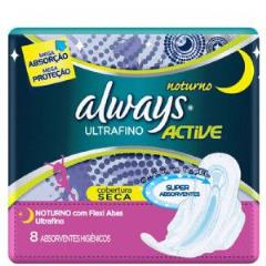 Abs always active ultrafino noturno com 8 unidades  -  Procter & Gamble