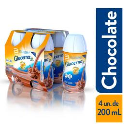 GLUCERNA SR CHOCOLATE 200ML COM 4 UNIDADES