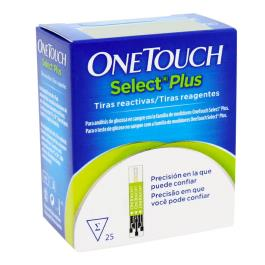 ONE TOUCH SELECT PLUS COM 25 TIRAS