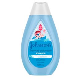 SHAMPOO JOHNSON'S BABY CHEIRINHO PROLONGADO COM 400ML